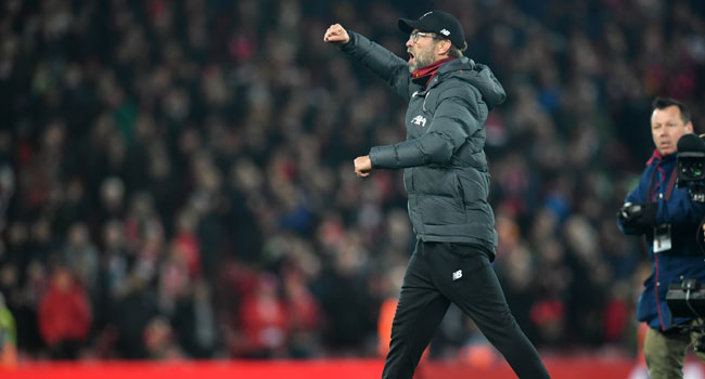 Klopp Hails 'Focused' Liverpool After Man City Win