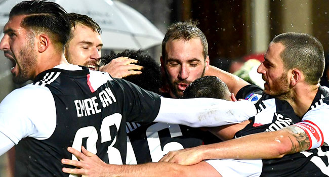 Higuain, Dybala Score As Juventus Stay Top Of Serie A