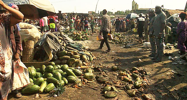 Armed Men Invade, Demolish Fruit Market In Ketu, Lagos