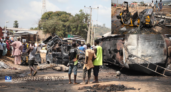 Three Killed As Petrol Tanker Explodes In Kogi