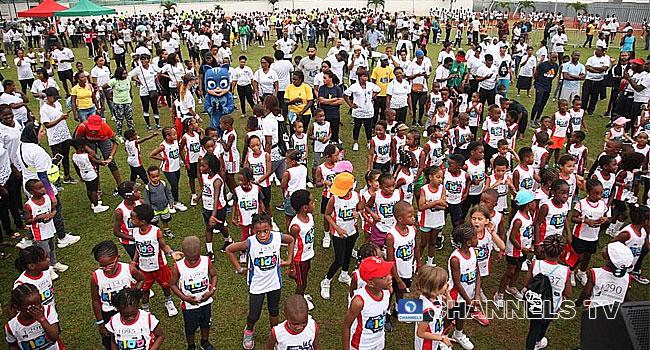 Lagos Kids Mini Marathon Kicks Off