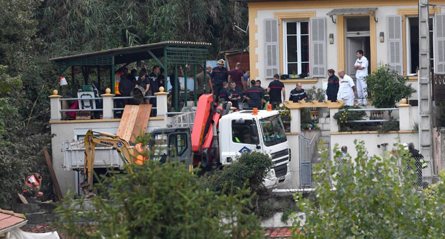 Woman Found Dead In Landslide After Storm Batters France