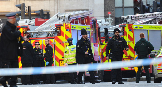 Two Killed In London Stabbing Terror Attack