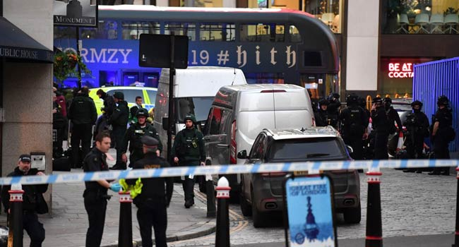 Police Shoot Man On London Bridge After Attack