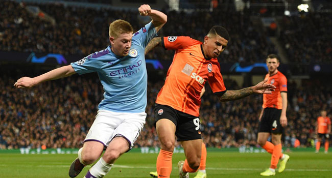 Manchester City Reach Champions League Last 16 As Group C Winners