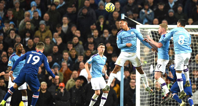 City Beat Chelsea To Maintain League Title Hope