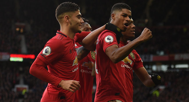 Man United Beat Brighton 3-1, Climb To Seventh Position