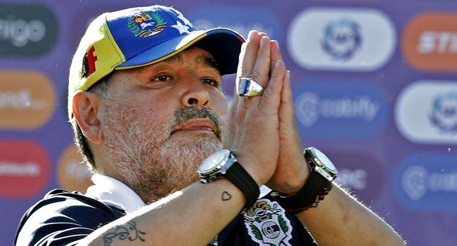 'Ciao Diego:' Napoli Bid Farewell To Club Legend Maradona