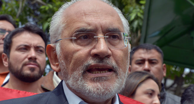 Bolivian Opposition Leader Calls On President Morales To Resign