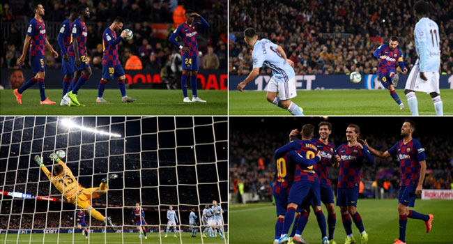 How Messi's Dead-Ball Hat-Trick Put Barca Back On Top