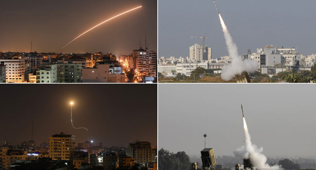 'Wide-Scale' Israeli Strikes Kill 11 Fighters In Syria