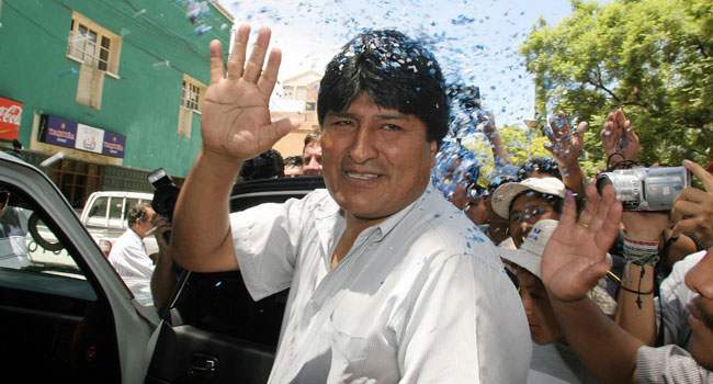 Mexico Offers Asylum To Bolivia's Morales, Says Foreign Minister