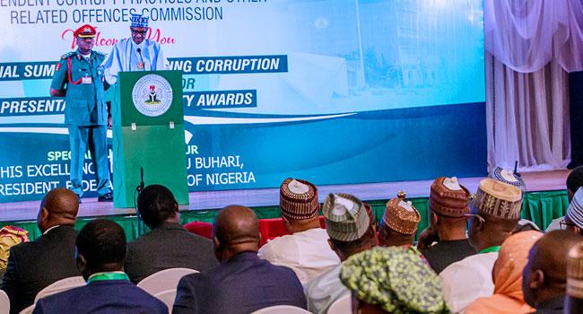 Corruption: Buhari Asks NASS To Speedily Pass Special Crimes Court Bill