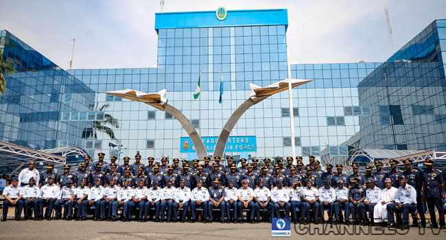 PHOTOS: Air Force Decorates Newly-Promoted AVMs, Air Commodores