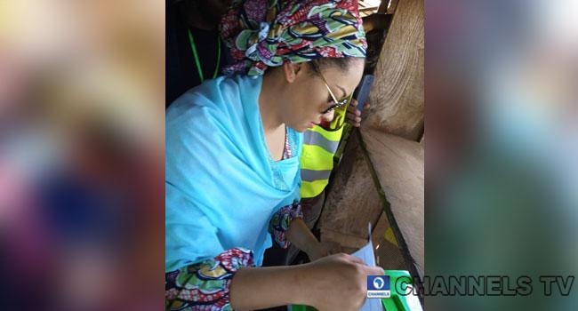 SDP's Natasha Akpoti Votes, Decries Violence In Kogi Elections