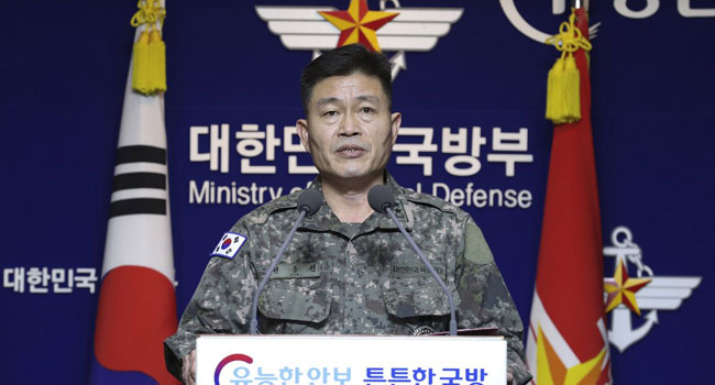 North Korea Fires Two 'Unidentified Projectiles' On Thanksgiving