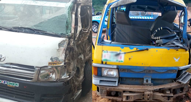 11 Adults, Two Children Killed In Multiple Vehicle Crash On Lagos-Ibadan Expressway