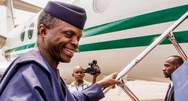 Osinbajo Departs Nigeria For UAE Peace Forum