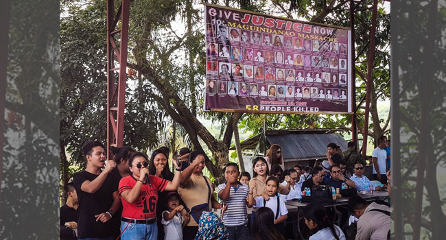 Philippines Marks Massacre Anniversary With Calls For Justice