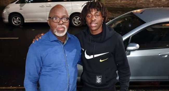 Pinnick Meets England-Born Midfielder Ebere Eze Over Chances To Play For Nigeria