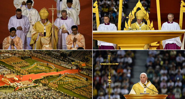 Pope Urges Respect For Prostitutes At Crowded Bangkok Mass