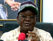 A file photo of Benue state Governor Samuel Ortom