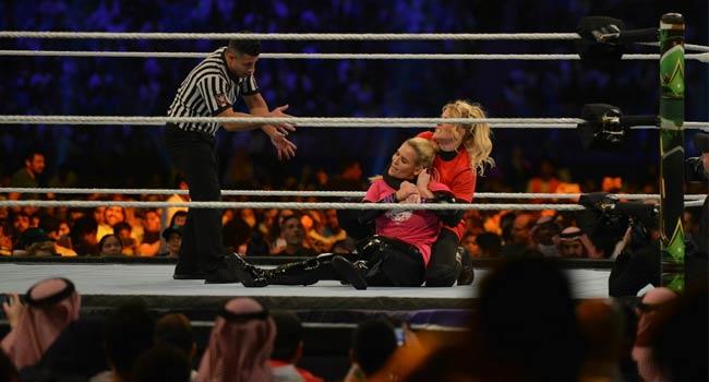 Saudi Arabia Holds First-Ever WWE Superstars Women Wrestling Match