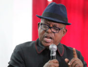 A file photo of National Chairman of the Peoples Democratic Party, PDP, Uche Secondus