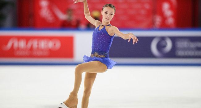 Russian Teen Shcherbakova Dazzles To China Skating Gold