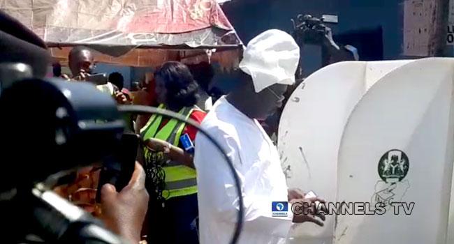 Kogi Elections: Smart Adeyemi Votes