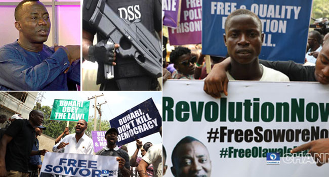 Appropriate People Haven't Come For Sowore, DSS Insists Despite Falana's Statement