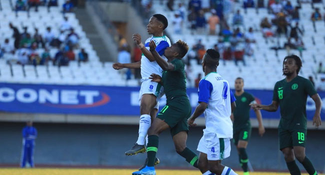 AFCON 2021 Qualifiers: Nigeria Fight Back To Beat Lesotho