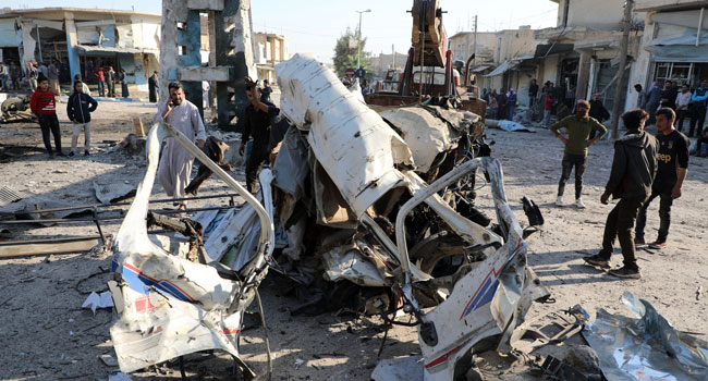 Car Bomb Kills 19 In Northern Syria