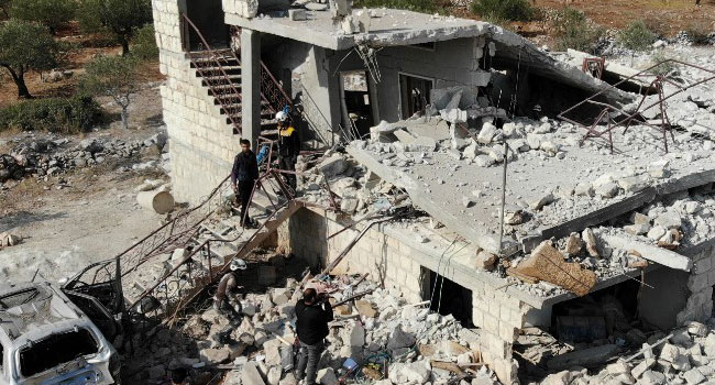 Russian Strikes Kill Nine Civilians In Syria