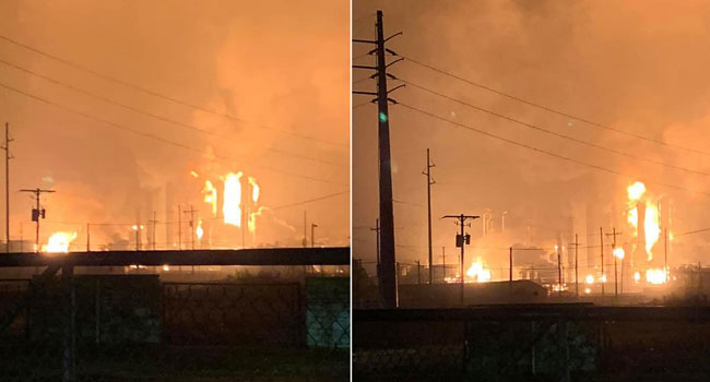 Explosion Rocks Texas Chemical Plant