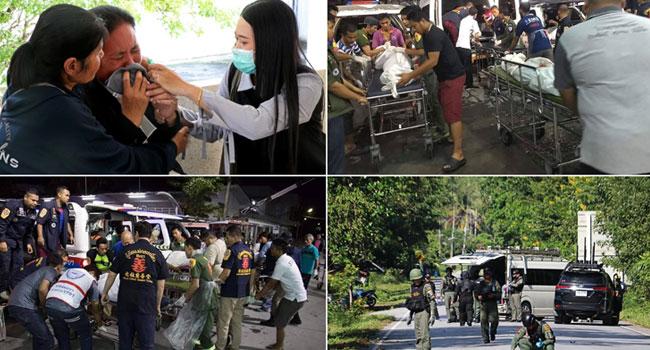 15 Killed In Suspected Rebel Attacks In Thailand