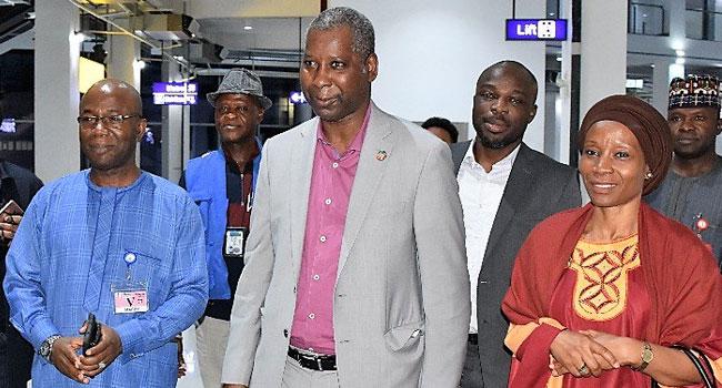 VIDEO: UNGA President Tijjani Muhammad-Bande Visits Nigeria