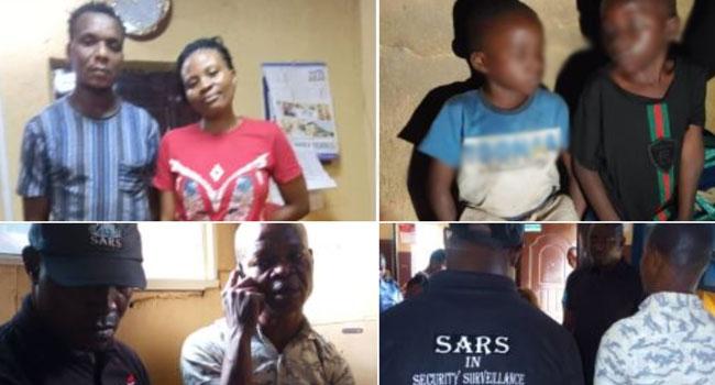 Image result for Two fake SARS officers arrested