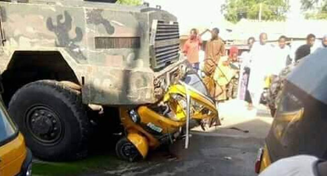 Army Investigates Truck Accident Which Killed Toddler, Student In Yobe