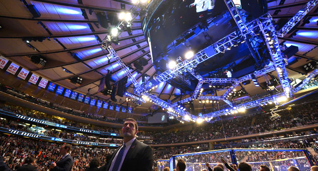 Trump Booed At UFC Bout In New York