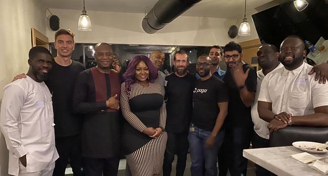 [Video] Twitter CEO Jack Dorsey Speaks Yoruba As He Meets Toolz, Others