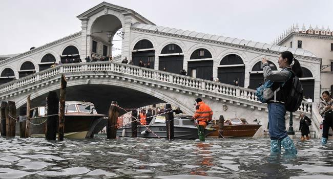 Climate Change, Corruption Blamed For Venice Flood Devastation