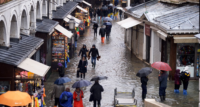 Italy's Venice Braces For More Flooding