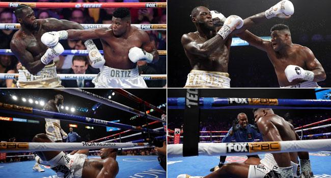 Wilder KOs Ortiz to Retain WBC Heavyweight Title