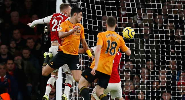 Premier League: Wolves Hold Arsenal To 1-1 Draw