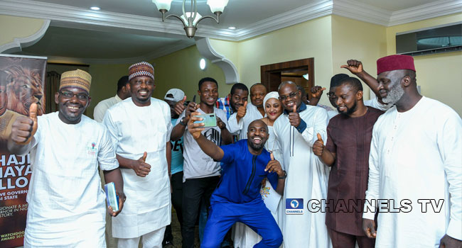 Yahaya Bello, Supporters Jubilate Over Kogi Election Victory