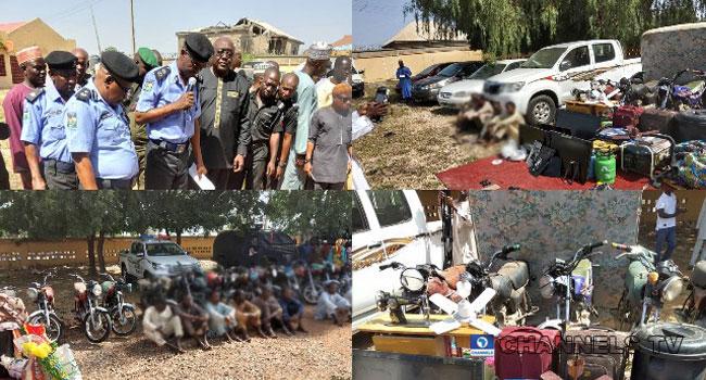 Police Arrest Suspected Car Thieves, Kidnapper In Zamfara