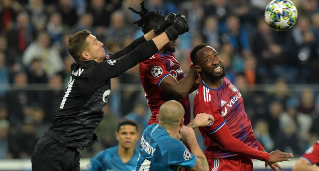 Zenit Deny Lyon Chance To Clinch Early Champions League Last 16 Spot