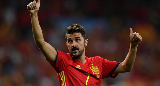 Spain's Record Scorer Villa Retires After 19-Year Career