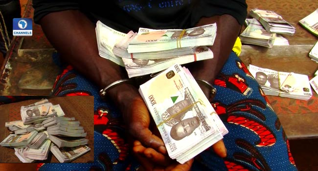 Customs Arrest Man With N2.5m Fake Currency Notes